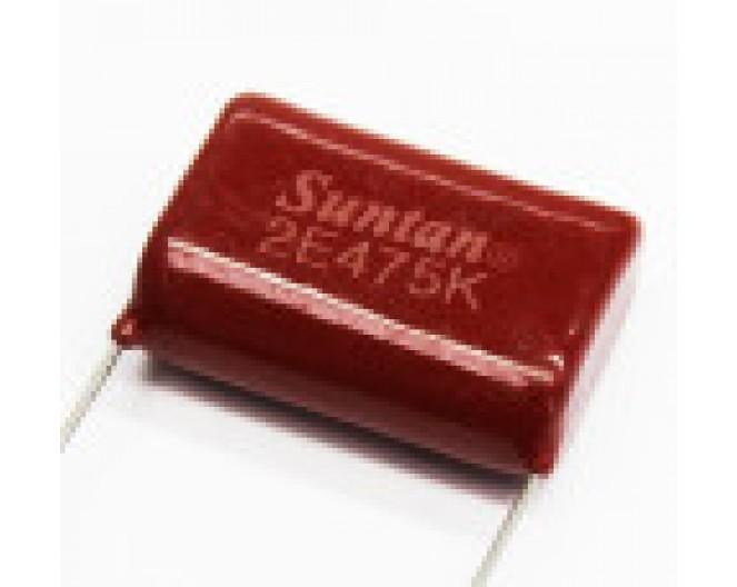 Конденсатор неполярный CL21 4,7Мкф x 400в (К73-17) 475K