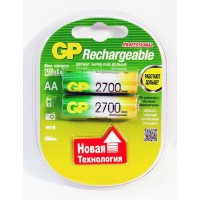 Аккумулятор AA GP 2700mA (2шт) GP270AAHC