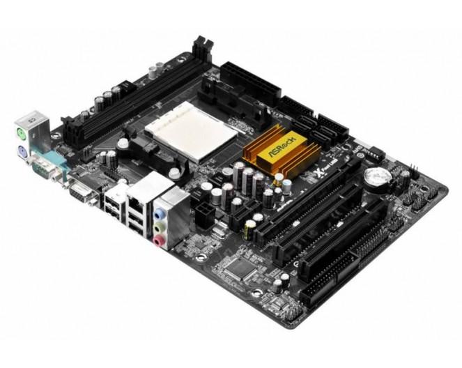 М/плата ASRock [N68-GS4 FX] mATX Soc-AM3+ (2xDDR3, AC5.1, PCI-E, 2xUSB, VGA, COM, IDE) RTL