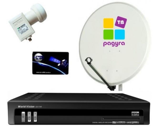 Комплект Радуга TV (оплачено 3 месяца) World Vision S517 IR