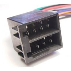 Разъем для автомобильной магнитолы Гнездо ISO BLAUPUNKT