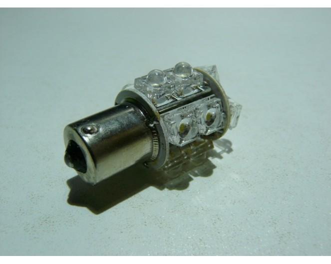 Автомобильная светодиодная лампа 1156 (P21W, BA15s) 13 Dip Led Белая
