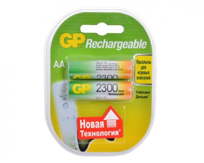 Аккумулятор AA GP 2300mA (2шт) GP230AAHC