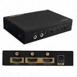 Делитель HDMI HKSP0102SH ( 1 вход => 2 выхода) ver.1.4/3D