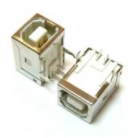 Гнездо USB BF выводы под 90 (3115) монтажное для принтера