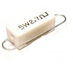 Резистор 2,7R - 5Wt