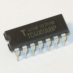 Микросхема TC4069UBP