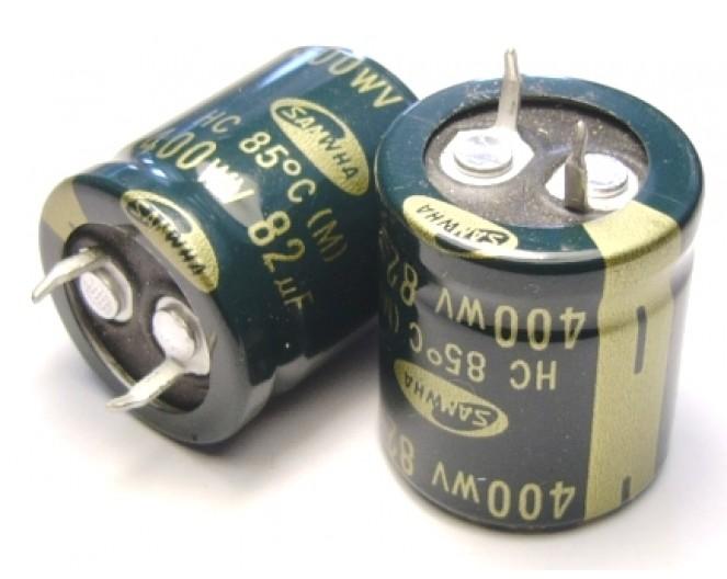 Конденсатор 82mkF x 400V