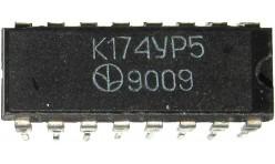 Микросхема К174УР5  (TDA2541, TDA2540, TDA3541)