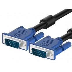 Шнур VGA 15M - VGA 15M 3м 2фильтра