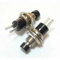 Выключатель кнопочный без фиксации (OFF - ON) PBS-10B-2