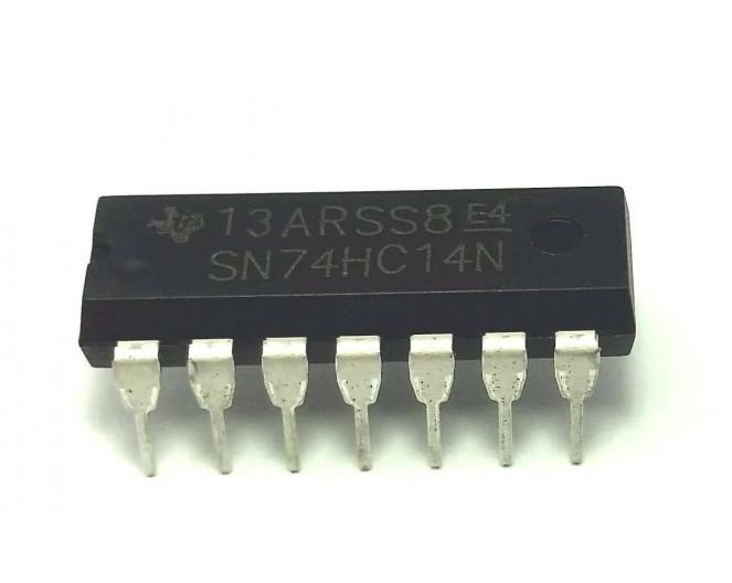 Микросхема 74HC14dip (CD74HC14E)