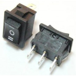 Выключатель клавишный 220V ON-OFF-ON