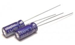 Конденсатор 3,3mkF x 100V