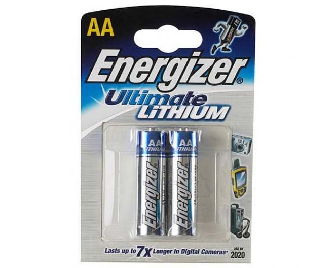 Батарейка R6-AA (316 элемент) Energizer Lithium Ultimate