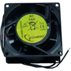 Вентилятор 220V 80x80x38 Gembird A80BBF-220AS2
