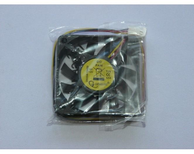 Вентилятор 12V 60x60x10 подш. Gembird D60SM-12AS3