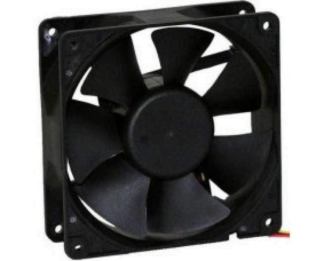 Вентилятор 12V 120x120x25 подш. Gembird Fancase3