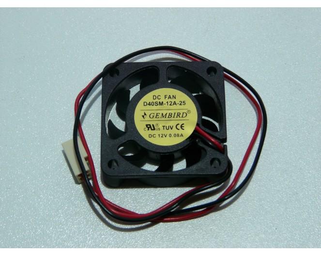 Вентилятор 12V 40x40x10 Gamebird D40SM-12A
