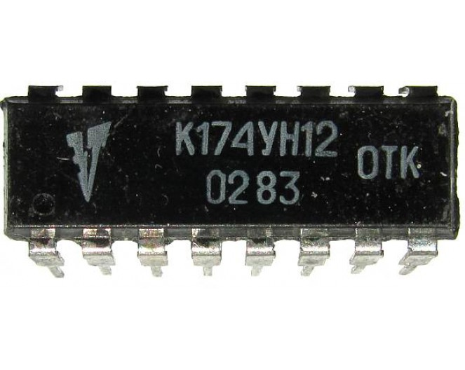 Микросхема К174УН12