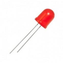 светодиод Красный 10мм крашеный