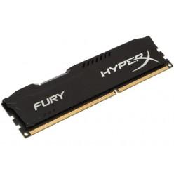 Память DIMM DDR3  4Gb 1600MHz Kingston HyperX Fury [HX316C10FB/4] Black Series, RTL, PC3-12800, CL10