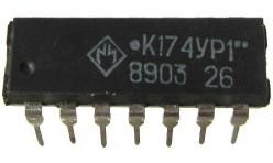 Микросхема К174УР1