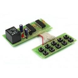 Радиоконструктор K259 (кодовый выключатель)