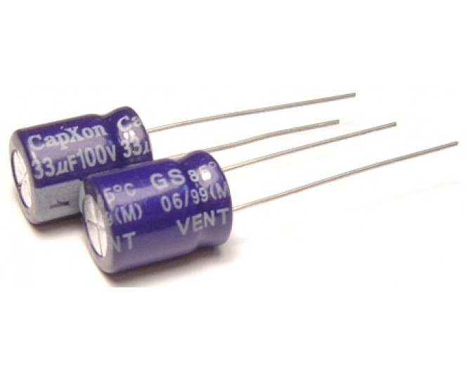 Конденсатор 33mkF x 100V