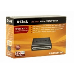 Маршрутизатор D-Link DSL-2500U/BRU/BRS/D/C Ethernet ADSL/ADSL2/ADSL2+