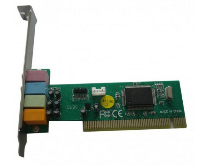 Звуковая карта C-media CMI8738-SX 4-channel PCI (OEM)