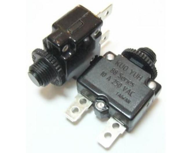 Предохранитель автоматический KBF1-01-5A (MR1-5A-I, 10A, 250V,выводы прямые)