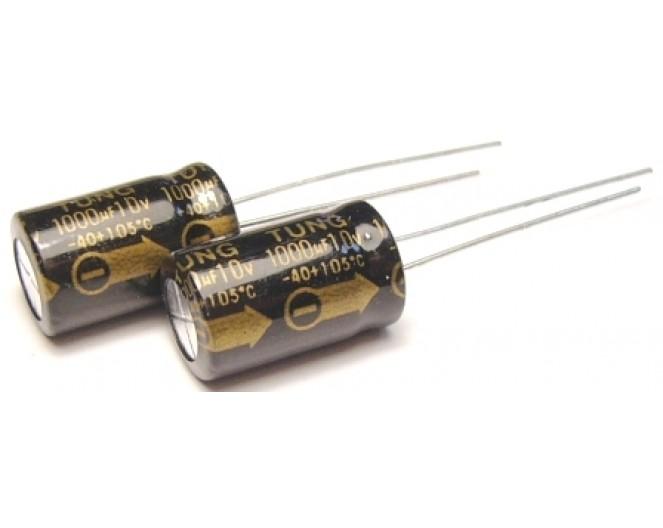 Конденсатор 1000mkF x 10V 105*С комп. К50-35