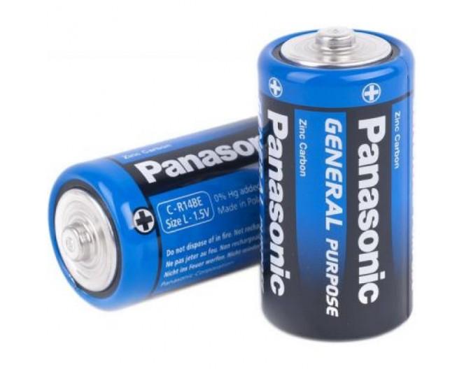 Батарейка R14 (343 элемент) Panasonic