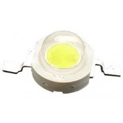 светодиод Белый 3W, 120 Lm,6000K, 3,2-3,6v, 500mA