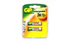 Аккумулятор AAA GP 1000mA (2шт) 2BL