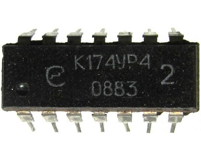 Микросхема К174УР4  (TBA120U A223D)