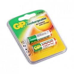 Аккумулятор AA GP 1300mA (2шт) GP130AAHC