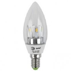 Лампа ЭРА LED B35 E14, 5w, 4000К, свеча прозрачная (B35-5w-840-E14)
