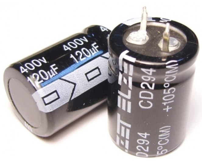 Конденсатор 120mkF x 400V 105*C