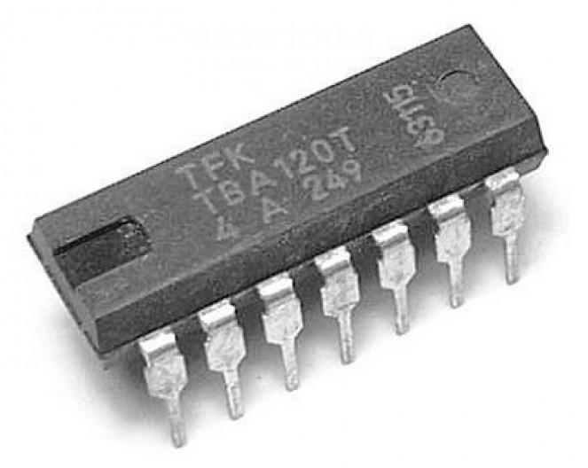 Микросхема К174УР6 (TBA120T)