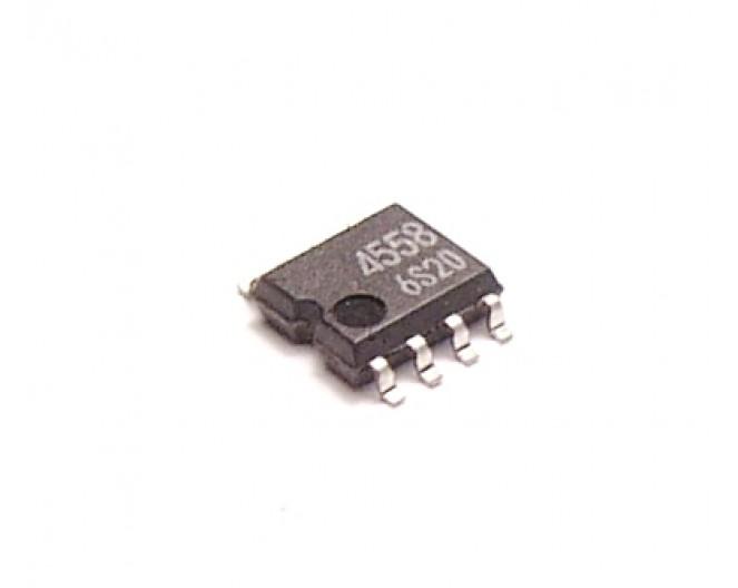 Микросхема BA4558(M)smd(=NJM)  (NJM4558, SG4558)