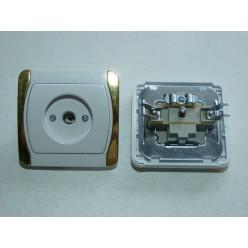 Розетка внутрення  для TV ALFA 520111XX