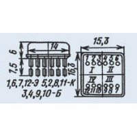 Микросхема КТС613Б