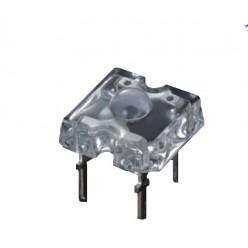 светодиод Пиранья (7,62x7,62mm) ,белый свет
