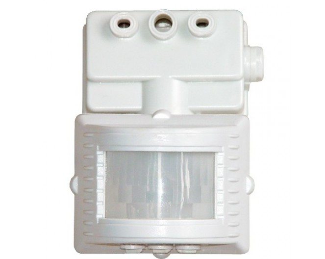 Датчик движения инфракрасный LX03A белый 220v