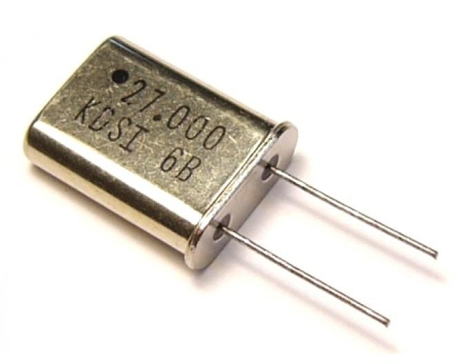 Кварцевый резонатор HC-49U-27 МГц