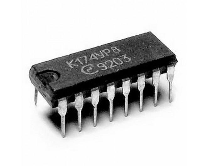 Микросхема К174УР8 (TDA2545)