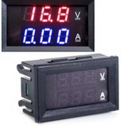 Вольтметр + амперметр ZC15400 цифровой