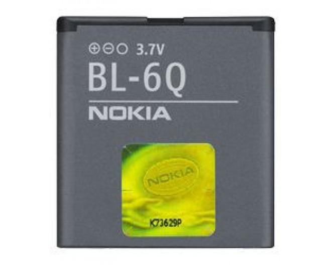 Аккумуляторная батарея Nokia BL-6Q (Не оригинал!)